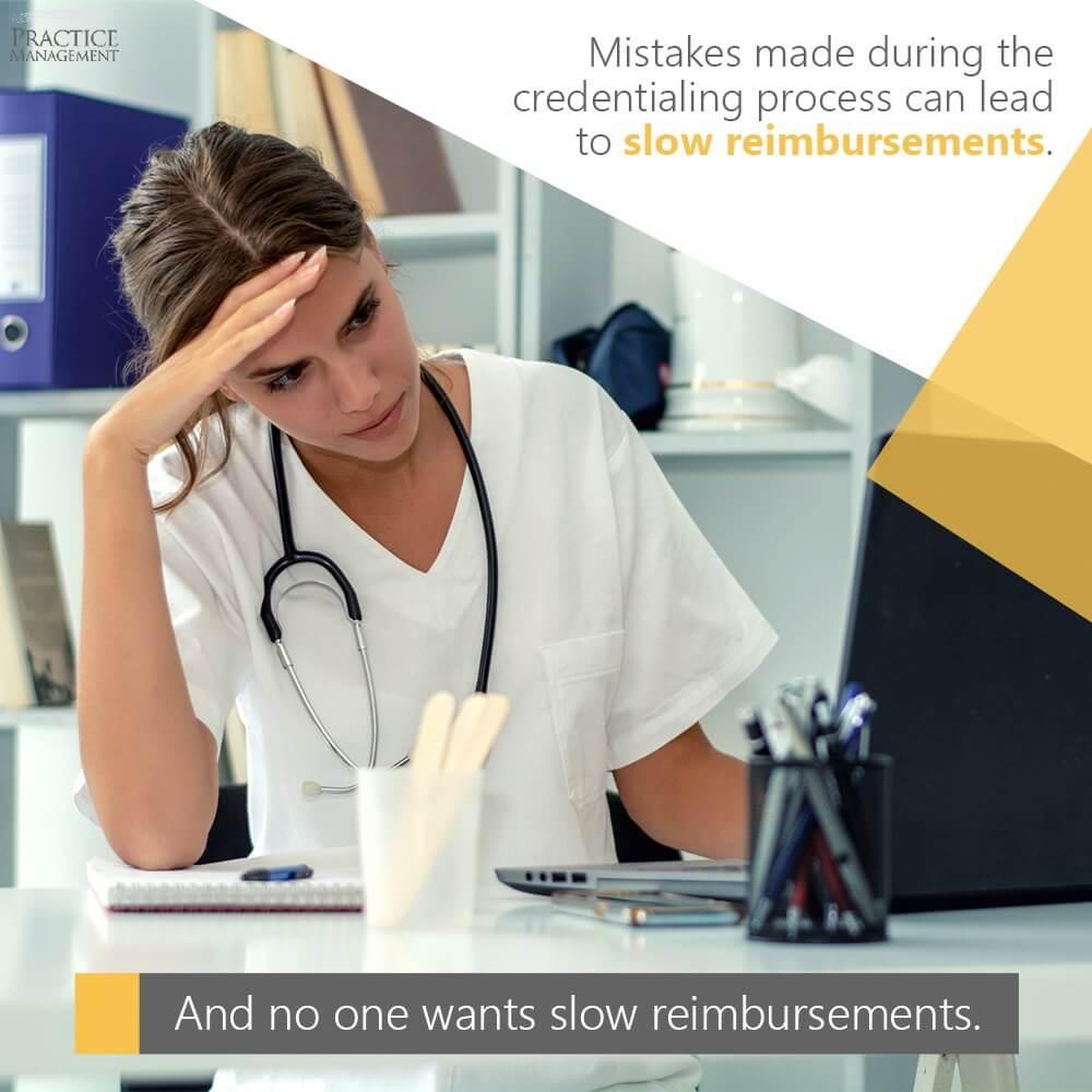 Slow reimbursements