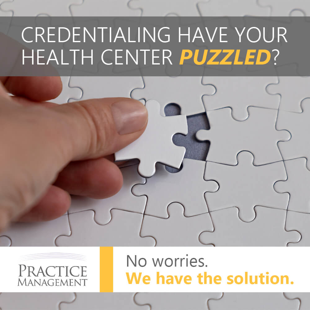 Credentialing Doesn't Have to be Puzzling