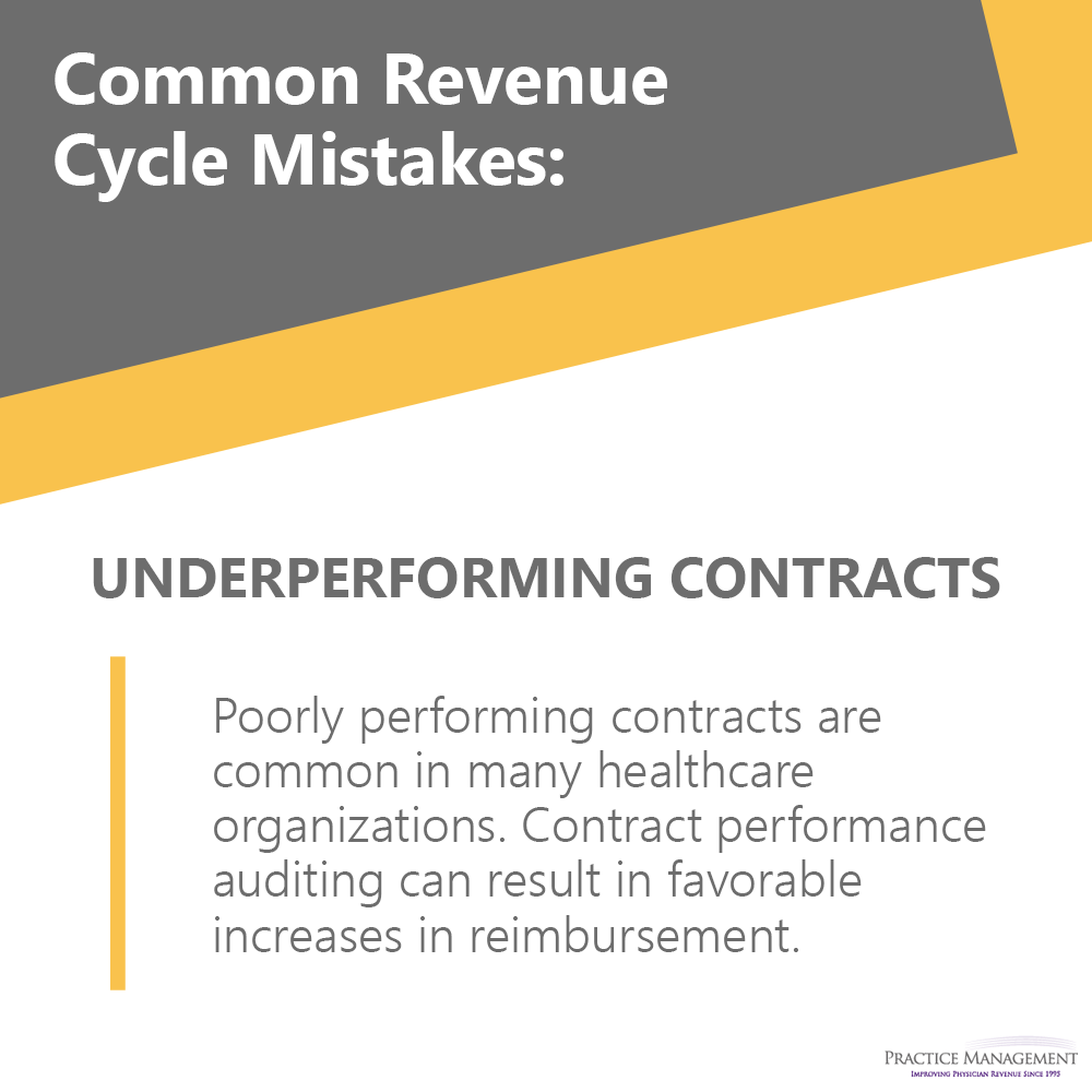 Revenue Cycle Mistakes
